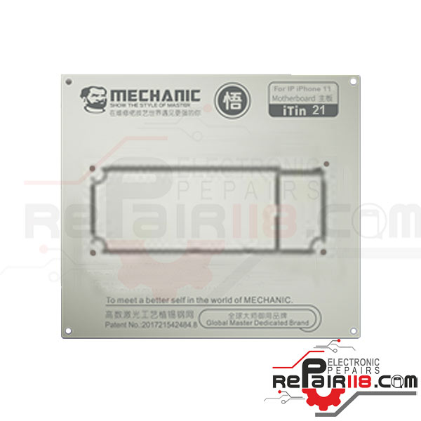 شابلون Mechanic iTin-21 iPhone 11